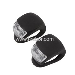 2Pcs/Set Waterproof Super Frog LED Bicycle bike Head Light Headlamp Headlight