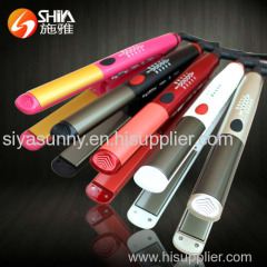 Professional ceramic coating flat iron hair straighteners with LED display hair styling tools