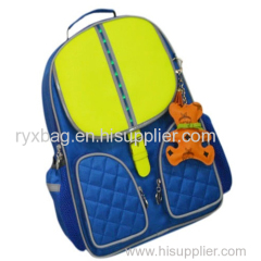 Flash LED school bag