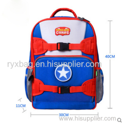 Flash LED schoolbag / super hero series with pencil case