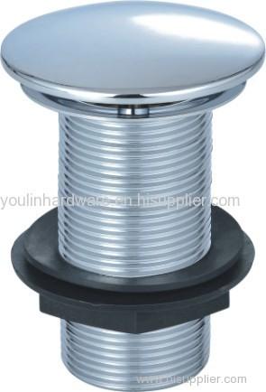 Basin Waste Sloted Metal Plug for bathroom fittings