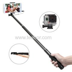 Selfie Stick Teebor SS1001 Foldable Wired Selfie Stick Self-portrait Monopod with Universal Phone Holder for iPhone 6