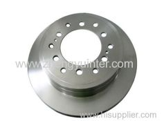 Grey Iron MAZDA Brake Rotors Casting Parts PRICE