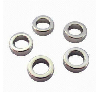 Ni Coating Strong N42 NdFeB Concave Ring Magnet Neodymium