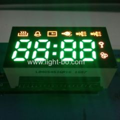 Pure Green & Ultra Red 4 Digit 7 Segment LED Display for Multifunction digital timer