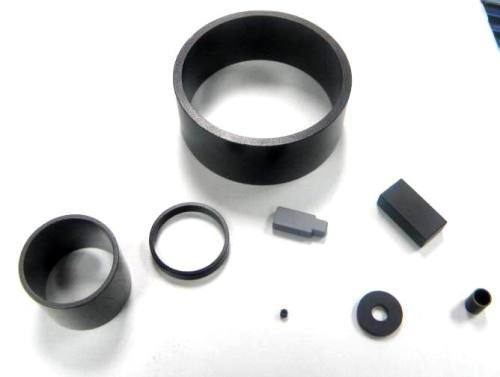 Bonded ring permanent rare earth magnets