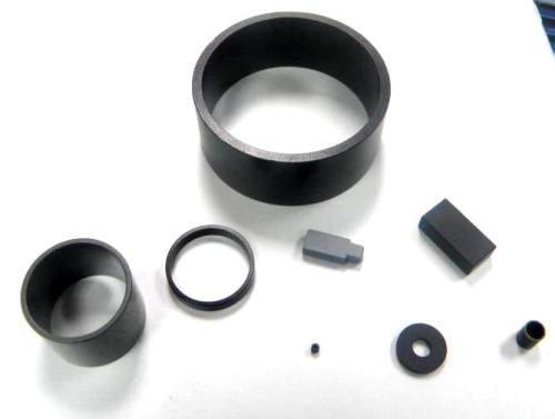 Bonded neodymium dc motor magnet