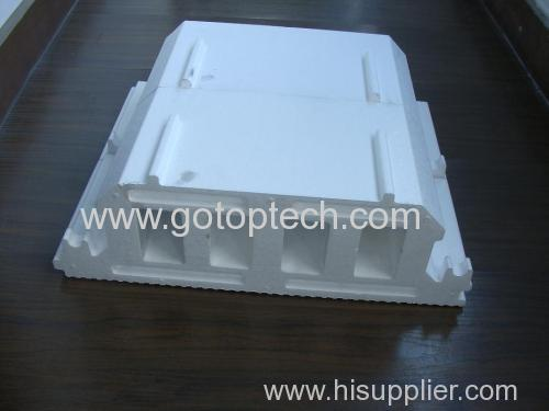 eps roof panel shape moulding machine and eps roof moulding machine