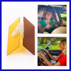 HD Vision Car Driving Anti-Glaring Sun Visor Board Day And Night Visor