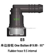 Automotive Quick Connector For Fuel Delivery System 9.89mm