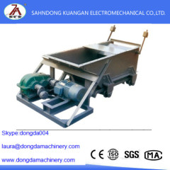 Reciprocating plate feeder for coal