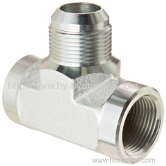 Double Female Pipe Tee Flared Tube Fittings