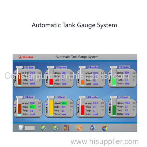 Automatic level gauge system