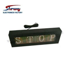 Emergency LED Message Sign for Vehicles