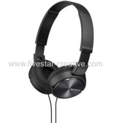 Sony MDRZX310 On-Ear Black Foldable Sound Monitoring Headphones
