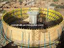 Assemble adjustable Semi-diameter curved formwork , abnormal wood formwork