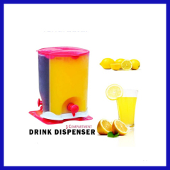 Compartment Drink Dispenser Beverage Dispenser