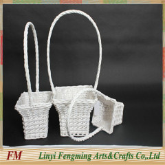 Hot sale New Europe style wicker flower baskets
