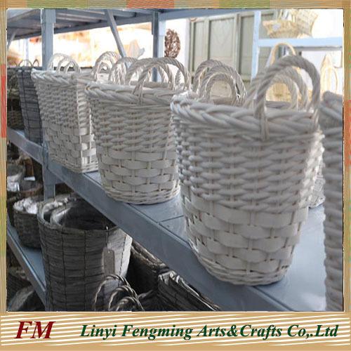 Honey willow miniature flower basket