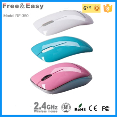 small size usb wireless 2.4G optical mouse