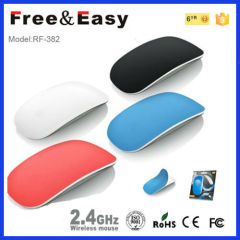 Very slim and flat wireless apple mouse