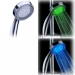 Temperature Sensitive LED bathroom shower head