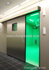 304 stainless steel automatic sliding hermetic doors for operation rooms