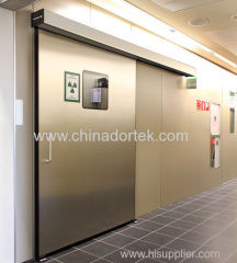 304 stainless steel automatic sliding hermetic leaded doors