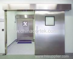 super heavy automatic sliding leaded doors for radiation proof
