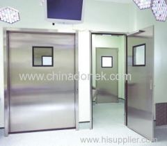 manual swing radiation proof doors with maximum 10mm lead