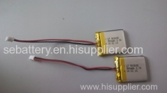 3.7v lithium polymer battery 503035 500mAh