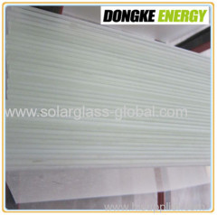 low iron tempered coated glass use for water heater solar panel