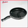 Kichen frying pan 3 in 1 divide wonder pan