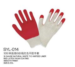 10 het breien enkele strengen van garen handschoenen wit garen duidelijke rode latex handschoenen te voorkomen gladde slijtvaste export l