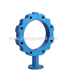 Ductile Iron PN10 Butterfly Valve Fittings Casting Parts OEM