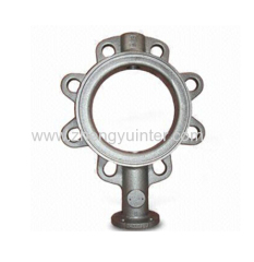 Ductile Iron Butterfly valves Bodies Casting Parts OEM