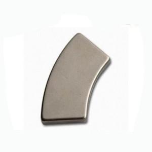 High quality permanent ndfeb arc magnet N45SH