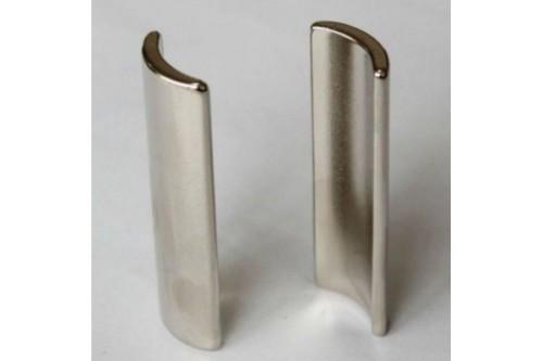 High quality neodymium n40h magnet arc