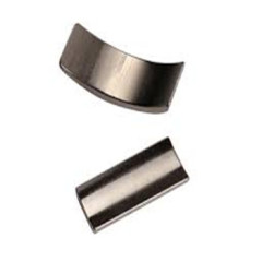 Neodymium high power arc motor magnet