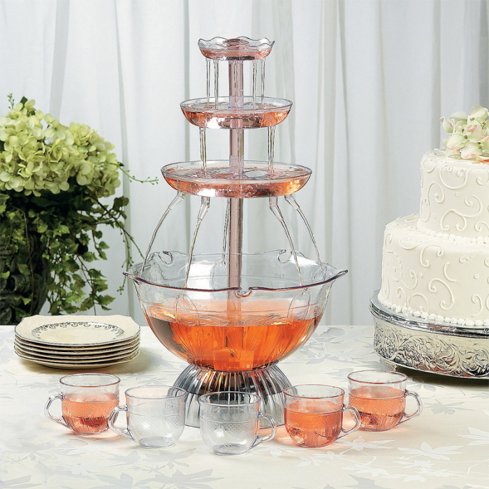 Juice fountain for wedding