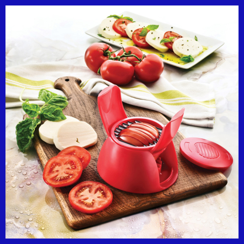 Plastic Tomato and Mozzarella Slicer