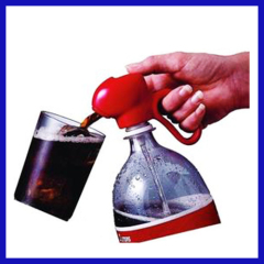 Portable fizz saver for soda beverage drink Dispenser