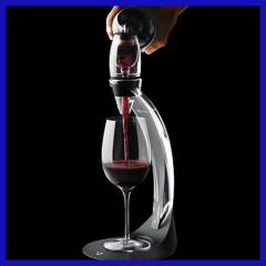 VINOFIRST Triple Stage Red Wine Aerator Magic Wine Decanter to Improve Wines and Add Air with FDA LFGB