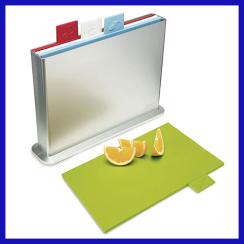 Plastic index chopping boards as seen on tv