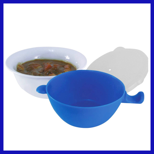 3 piece set cool touch microwave bowl