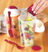 new product hot wholesale fruit salad cups fruit salad container PP salad to go with fork BPA free