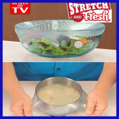 Stretch and Fresh Re-usable Food Wraps (Set of 4)