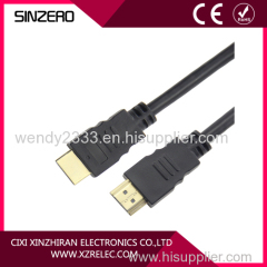 black gold hdmi cable/hdmi cable metal/hdmi cable manufacturer