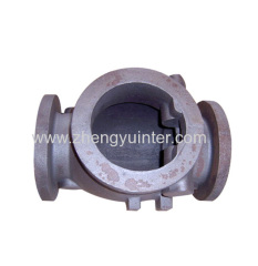 Ductile Iron Soft Sealing Gate Valve Fittings Casting Parts OEM