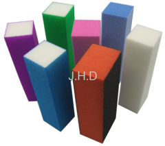 high quality foam sanding blocks/nail buffering block/colorful nail buffer